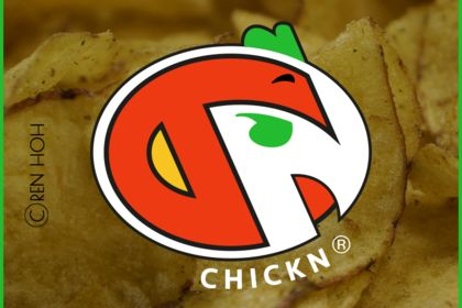 Logo ChikN, style fastfood