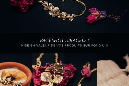 Packshot : Bijoux fait main