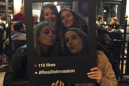 Résille Invasion (Princesse tam.tam)