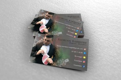 Carte de visite - Florian Barriere
