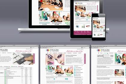 Site web d'une école