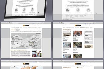 Site web d'une Agence Immobilière Internationale
