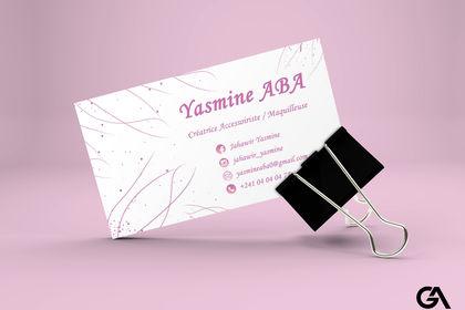 Carte de Visite Jahawir Yasmine