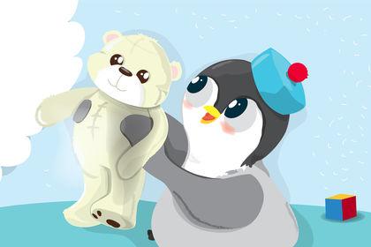 Pingoui part à la mer