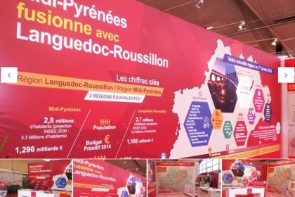 Stand Région Midi-Pyrénées