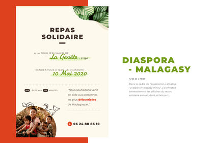 Flyer repas solidaire DMM