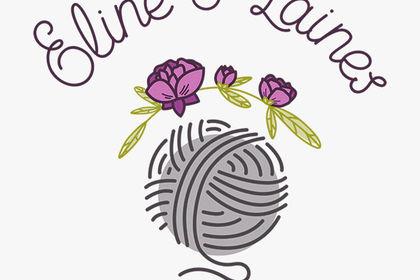 Logo pour Eline et Laines