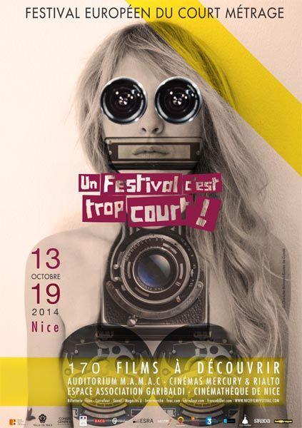 Visuel 14° édition d'Un Festival C'est Trop Court