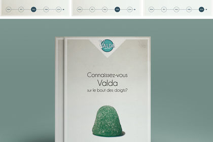 Campagne de communication Valda