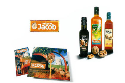 Charte graphique - Packaging Huiles Jacob