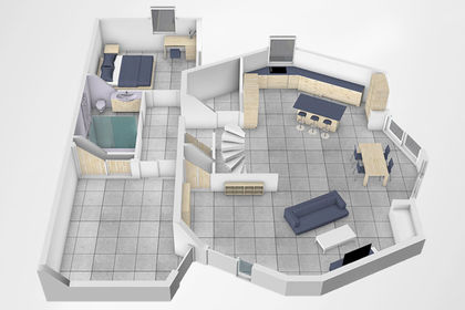"Plan architectural 3D ""Maison Freesia"""