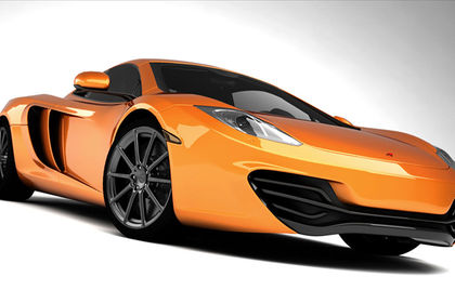 "Packshot ""Voiture Mc Laren MP4"""