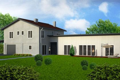 """Architecture extérieure """"Maison Halesia"""""""