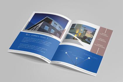 Brochure // Agence immobilière