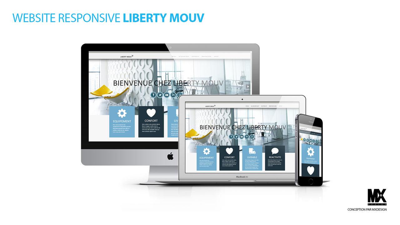 MOCKUP WEBSITE LIBERTY MOUV
