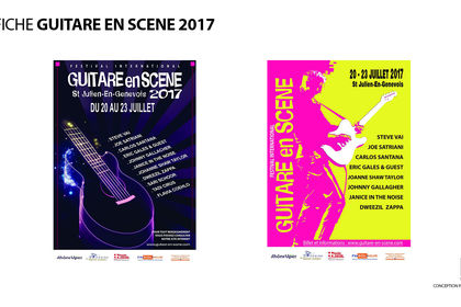 COMMUNICATION PRINT GUITARE EN SCENE