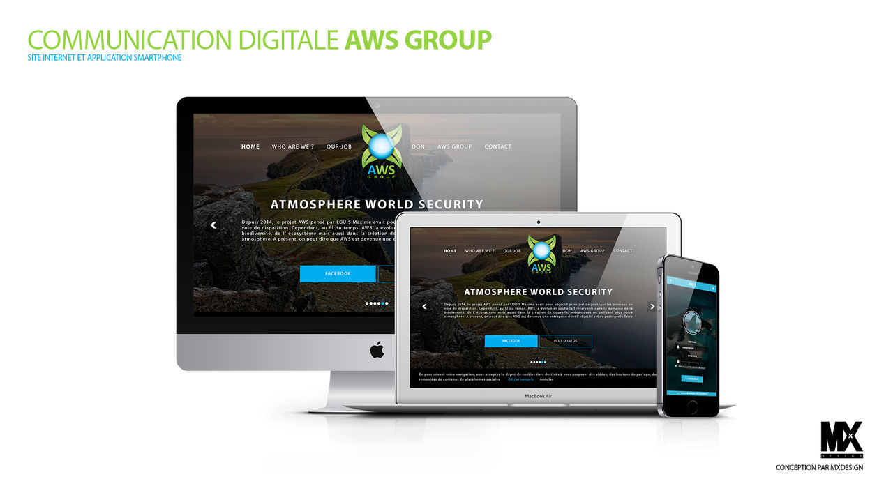 COMMUNICATION DIGITALE AWS GROUP