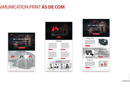 COMMUNICATION PRINT DIGITALE AS DE COM