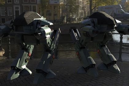 ED 209 + HDRI