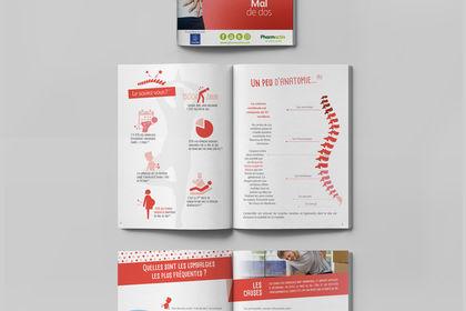 Exemple de brochure dans le domaine de la santé