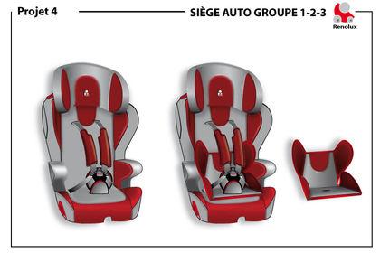 Design de siège auto