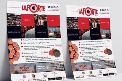 Flyer pour Laporte