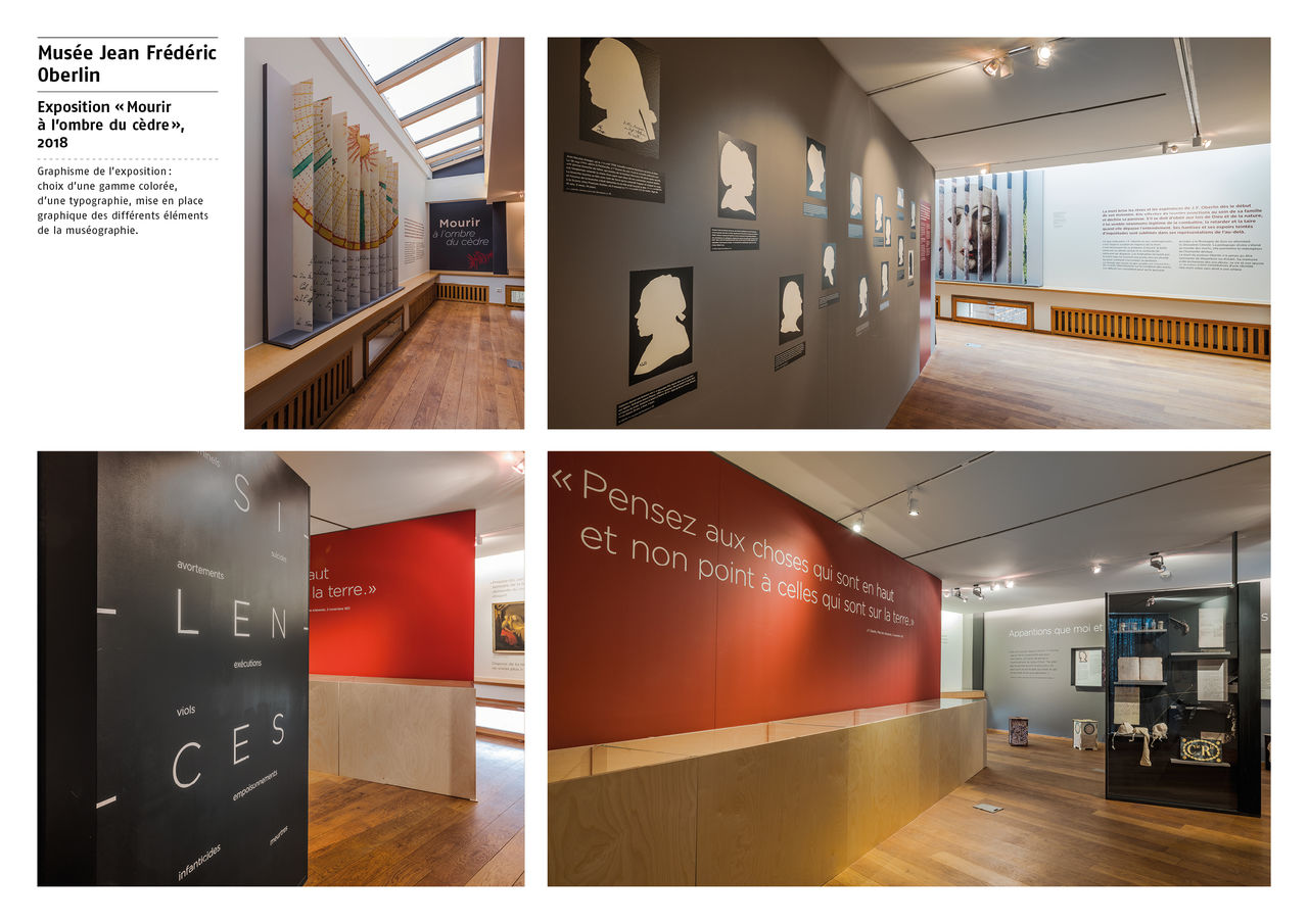 Graphisme exposition musée Oberlin