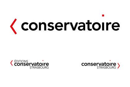 Logo pour le Conservatoire de Strasbourg