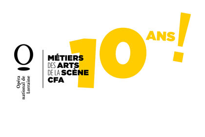 Logo pour les 10 ans du CFA