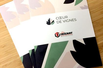 Logo et plaquette pour programme immobilier