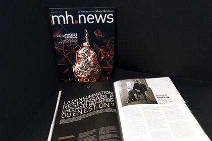 Magazine interne Moët Hennessy