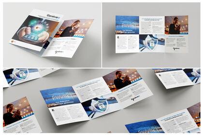 Brochure 3 volets Genève ID