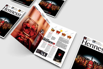 Magazine interne / Hennessy