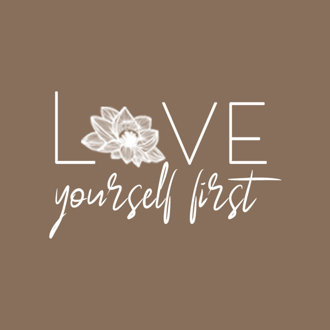 Love yourself first - Logo