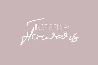 Inspired by Flowers - Logo
