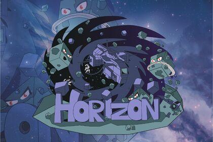 Illustration Logo team Horizon
