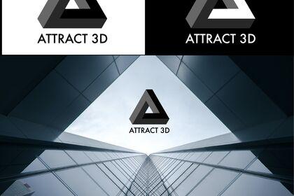 Logo ATTRACT 3D