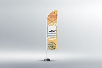 Brûlerie Lungo, drapeau.