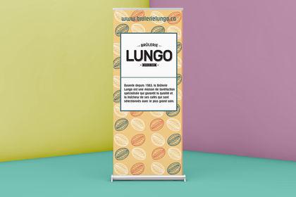 Brûlerie Lungo, Roll-up