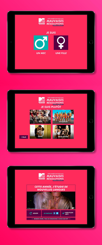 MTV / Mauvaises Résolutions