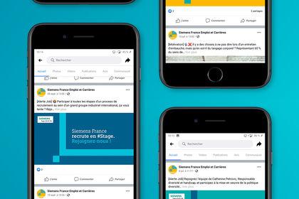 SIEMENS / Posts Facebook emplois