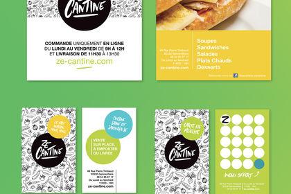 Ze Cantine / Identité Visuelle