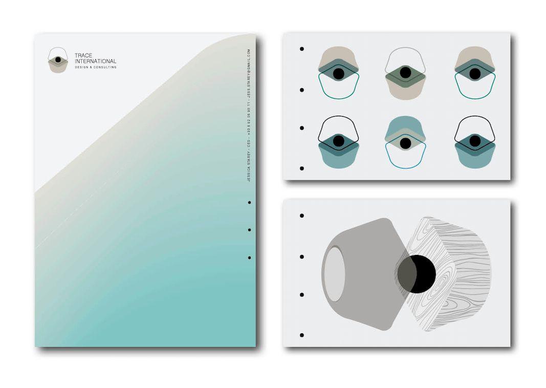 Identité visuelle | Trace Architectes | 2018