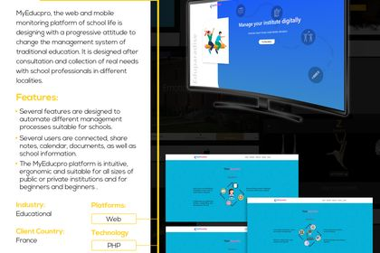 Eduparadise ( Web app )