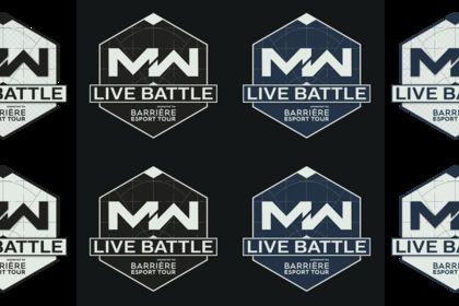 Planche de logo pour l'événement MW Live Battle