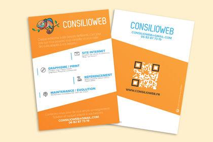 Flyer - Développeur freelance