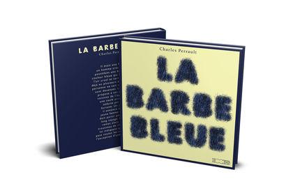 """Couverture et 4 de couverture """"La Barbe Bleue"""""""