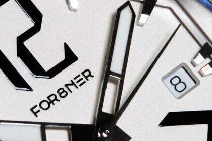 Logo en action pour le joailler FOR8NER