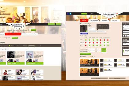 Identité, Webdesign - Site de rencontre