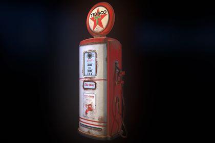 Gas Pump 50's